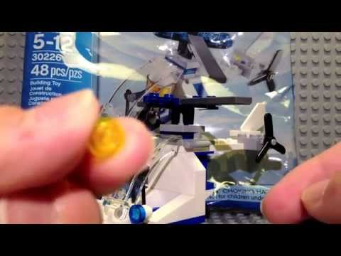 LEGO Police Helicopter Polybag Set Review 30226