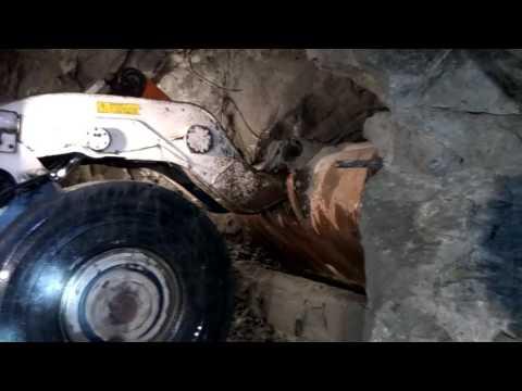 Работа ПДМ. Северопесчанская шахта