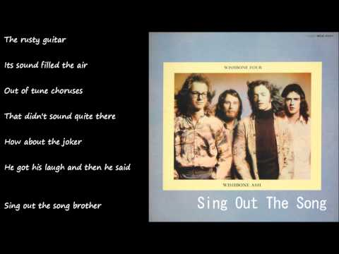 Wishbone Ash - Sing Out The Song