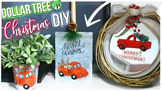 DIY DOLLAR TREE CHRISTMAS DECOR 2018   Farmhouse Dollar Store Decor    Sensational Finds