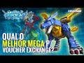 QUAL O MELHOR MEGA P VOUCHER EXCHANGE? - Digimon Linkz #04