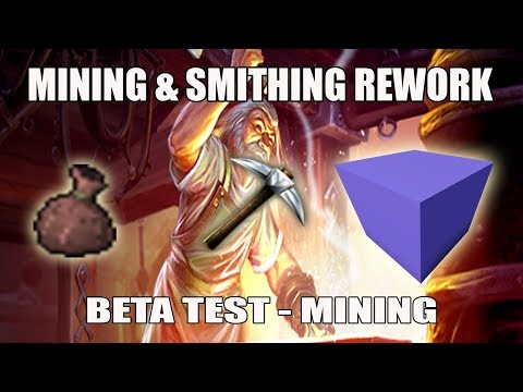 [Runescape 3] Mining & Smithing Rework Beta | Part 1 Mining Section