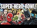SUPER HERO BOWL!   TOON SANDWICH