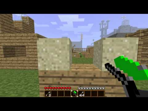 Minecraft Paintball with Piston Barricades!