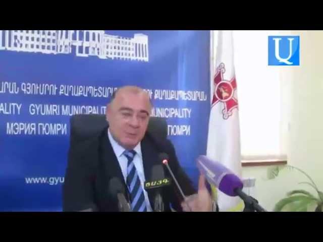 Գյումրու քաղաքապետը` եռյակի հանրահավաքին մասնակցելու մասին