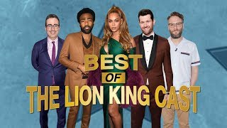 Best of 'The Lion King' Cast: Beyoncé, Donald Glover, Seth Rogen and More!