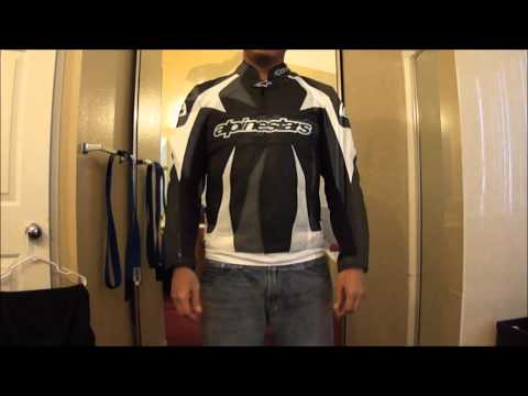 Alpinestar Monster leather perforated jacket