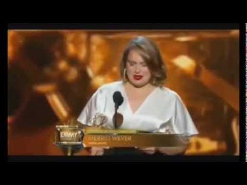 Merritt Wever Best Emmy Acceptance Speech Ever