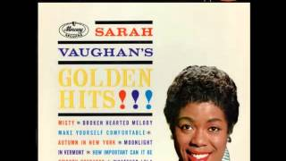 Watch Sarah Vaughan Broken Hearted Melody video