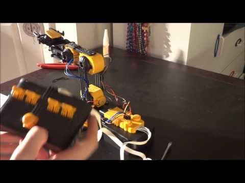 OWI Robotic Arm Edge Unboxing & Construction