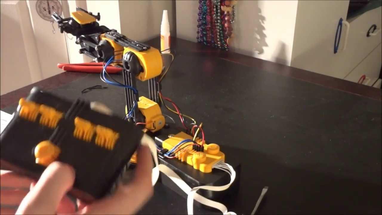 Robotic Arm Construction Owi Robotic Arm Edge Unboxing