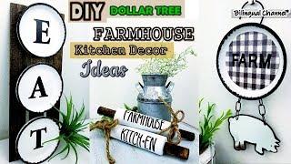 Dollar Tree DIY Farmhouse Kitchen Decor Ideas DIY Home Decor 2019