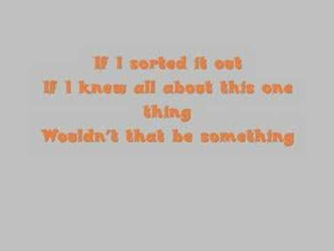 Finger Eleven- One Thing Lyrics