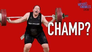 Women's Weightlifting Champ Is A Man