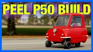 Forza Horizon 4 Customization : 300 Horsepower Peel P50 Build!!