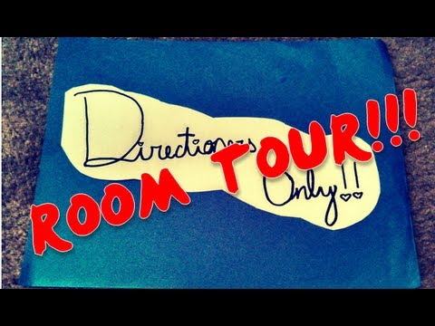 October 2013!! One Direction Room Tour Merchandise