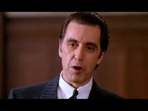 Al Pacino - Scent of a... Al Pacino Speech