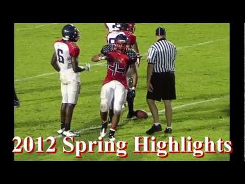 Malik Mapps- FB- Miramar High School- 2012 Spring Highlights- Class of 2013