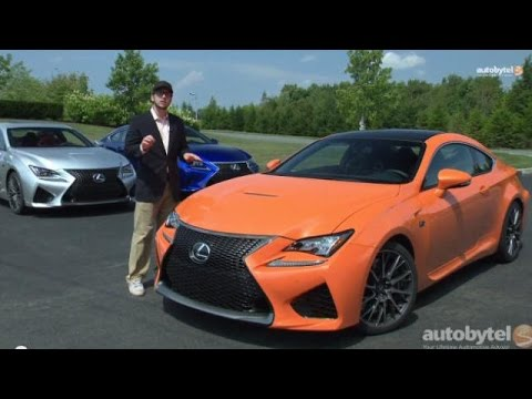 2015 Lexus RC F First Drive Video Review w/ Chief Engineer Interview