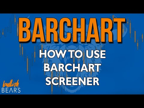 Barchart Stocks - Stock Signals Screener and Setup
