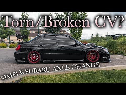Subaru Front CV Axle Replacement