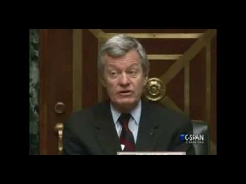 Baucus Warns Of 'Huge Train Wreck' Enacting ObamaCare