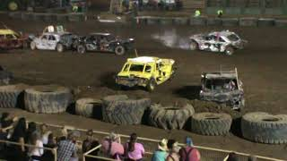2018 Yuba-Sutter Fair Destruction Derby - Main