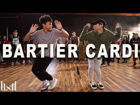 """CARDI B - """"Bartier Cardi"""" Dance   Matt Steffanina ft Kenneth & Gabe"""