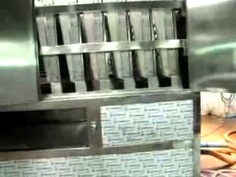 video of cube ice machine
