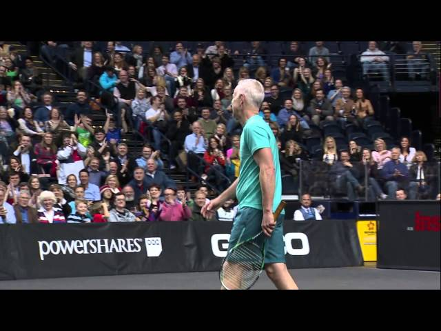 McEnroe's Tweener Shot - PowerShares Series in Nashville
