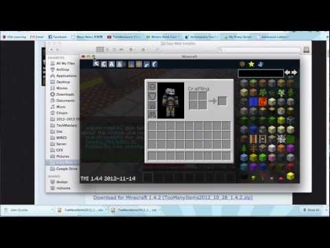Easy Minecraft Mod Installer for Mac (Nov 2012) Minecraft 1.5.2