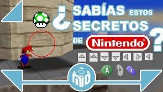 8 SECRETOS en juegos de Nintendo que TOMARON AÑOS en ser descubiertos | N Deluxe
