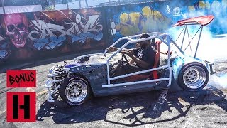 Hert Gives ShartKart Test SHRED at SEMA Yard!