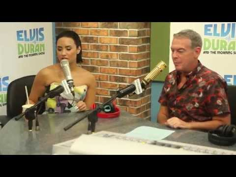 "Demi Lovato Interview | ""Cool for the Summer"" and Being Confident on Elvis Duran Show"