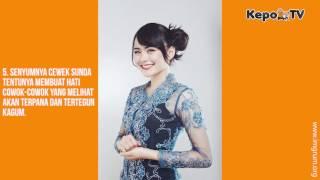 Wah Ternyata Cewek Sunda Gak Kalah Cantiknya Dibanding Cewek Korea Lho
