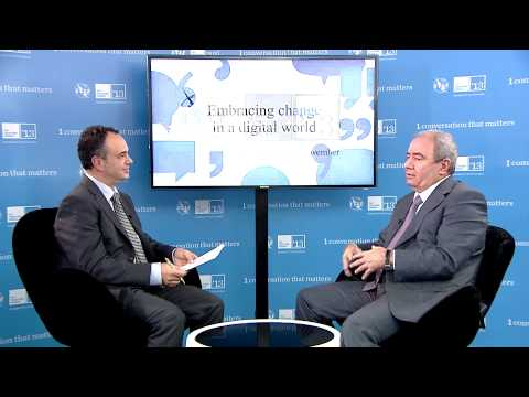 Prof. Dr. Ali M. Abbasov, Minister, ICT, Republic of Azerbaijan - Interview, ITU Telecom World 2013