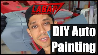 😎 10 TIPS: How To Paint Car Parts At Home! - DIY Auto Painting 💪😎