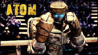 Real Steel Atom Tribute Eye Of The Tiger Burning Heart By Survivor