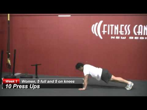 Fitness Canterbury Workout Of The Week - Week 1