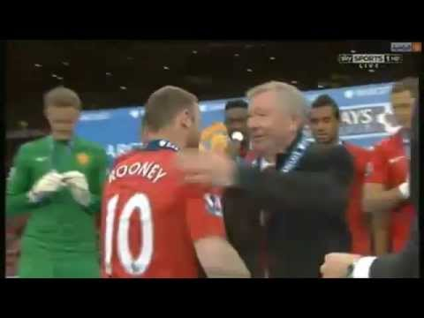 Manchester United Trophy Presentation 2013