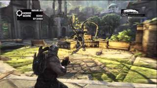 Gears of War 3_ Lambent Berserker Fight Horde 2.0 Boss Wave