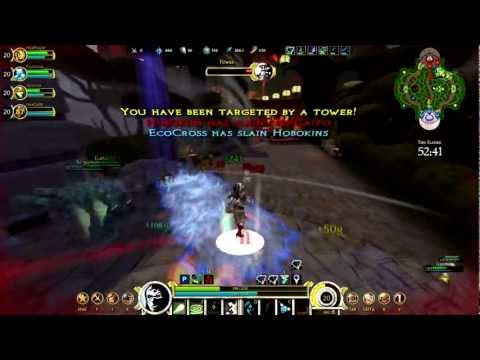 SMITE - Closed Beta Gameplay - First Look at the Reworked Hel . . . a support .... . err somthing