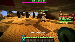 ♠ Minecraft: Smash With Friends!!! Ft. Tomohawk NettyPlays PBJ Vinny8ball666 ♠