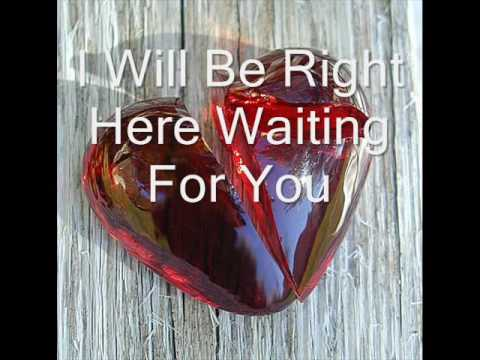 Richard Marx - Right Here Waiting For You By Withoutuhere video