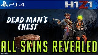 H1Z1 PS4: ALL HALLOWEEN EVENT SKINS, WEAPONS AND EMOTES! FIRST LOOK! #H1Z1PS4 #H1Z1