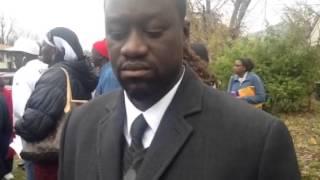 Louisville / USA | Manifestation contre l'assassinat du sénégalais Pape Mor Thiam