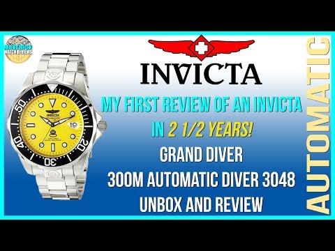 Second Chance? | Invicta Grand Diver 300m Automatic Diver 3048 Unbox & Review