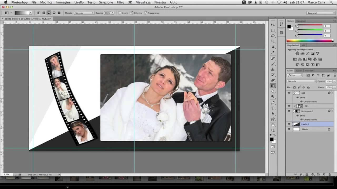 Как сделать альбом в фотошопе