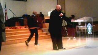 "Bishop W. J.  Campbell presents a ""City Wide Revival"""