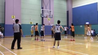 9 OCT SPORTARTS BASKETBALL LEAGUE 博亞 籃球聯賽 創基金業 vs 中信銀行 PART 3